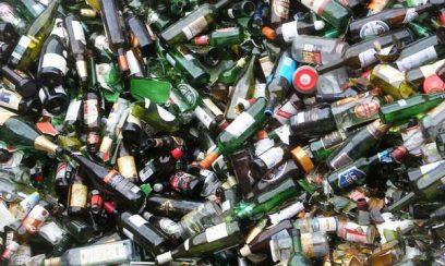 بازیافت ضایعات شیشه